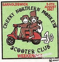 CHEEKY NORTHERN MONKEYS 2007